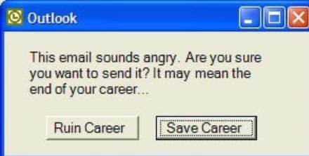 angry email