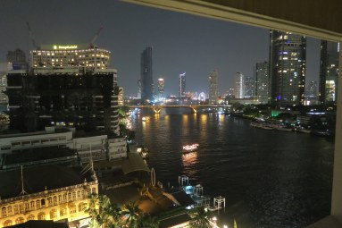 18 view from our room in Mandarin Oriental at night